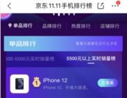 iPhone12人气爆棚 realmeQ2显黑马姿态 京东手机榜凸显新品能量