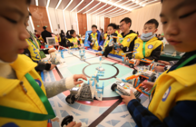 鲸鱼机器人助力ENJOY AI2020中国总决赛成功举办