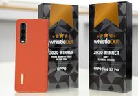 """OPPO Find X2 Pro获WhistleOut""""2020年最佳拍照手机""""奖项"""