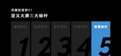 标杆品质越级体验 荣耀智慧屏X1系列815限时优惠三期免息