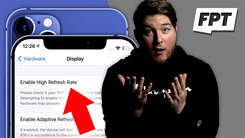 iPhone 12再曝真机设置页 120Hz高刷稳了?倒也不一定。。。