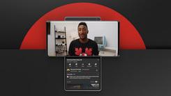 旋转屏手机LG Wing真机视频曝光 双屏可协同工作