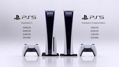 Sony PS5凌晨亮相 399美元起售 国区开售信息仍未公布