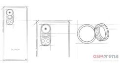 双圆环影像模组曝光 荣耀50系列或采用华为P50同款设计