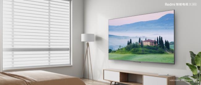 金属全面屏+32G大存储同价更高配!Redmi 智能电视X65首销价2999