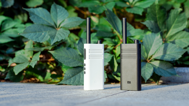 小米对讲机Lite 无网也能通话 出游沟通好帮手