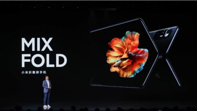 创新折叠屏交互体验 小米MIX FOLD刷新折叠屏旗舰期待